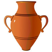 Amphora. vector — Stock Vector