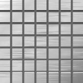 Vector ilustración de una placa de metal con cuadrados — Vector de stock