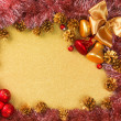 Abstract Christmas gold background — Foto Stock