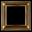 Vintage gold ornate frame — Stock Photo #7676013