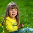 Little girl outdoors — Stock Photo #7676708