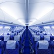 Airplane seats — Stockfoto