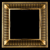 Vintage gold ornate frame — Stock Photo