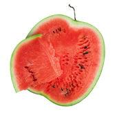 Sweet sliced watermelon — Stock Photo