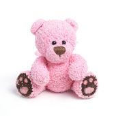 Teddy bear in klassieke vintage stijl geïsoleerd op witte achtergrond — Stockfoto