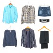 Clothing collection — Stock Photo #7821982