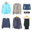 Royalty-Free Stock Photo: Clothing collection