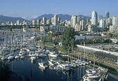 Vancouver skyline — Stock Photo