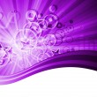 Stock Vector: Violet abstract background