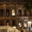 Ciragan palace hotel Bosphorus Istanbul Turkey in the night — Stock Photo