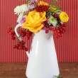 Bouquet of autumn flowers — Stock Photo #7708624