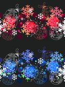 Beautiful seamless Christmas pattern. — Stock Vector