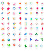 72 colorful vector icons: (set 2) — Stock Vector