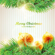 Chrismas background — Stock vektor #6817841