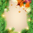 Royalty-Free Stock Vektorgrafik: Christmas background