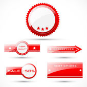 Vector badges and labels — Stock Vector