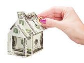 Money box of a house — Stock Photo