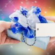 Gift to the Holiday — Stock Photo #6974387