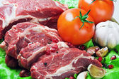 Meat and fresh vegetables — Foto de Stock
