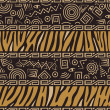 African style seamless pattern — Stock Vector