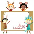 Royalty-Free Stock Vector Image: Christmas party