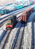 14 の貨物車 — Stock fotografie