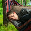Young man sleeping — Stock Photo #7560389