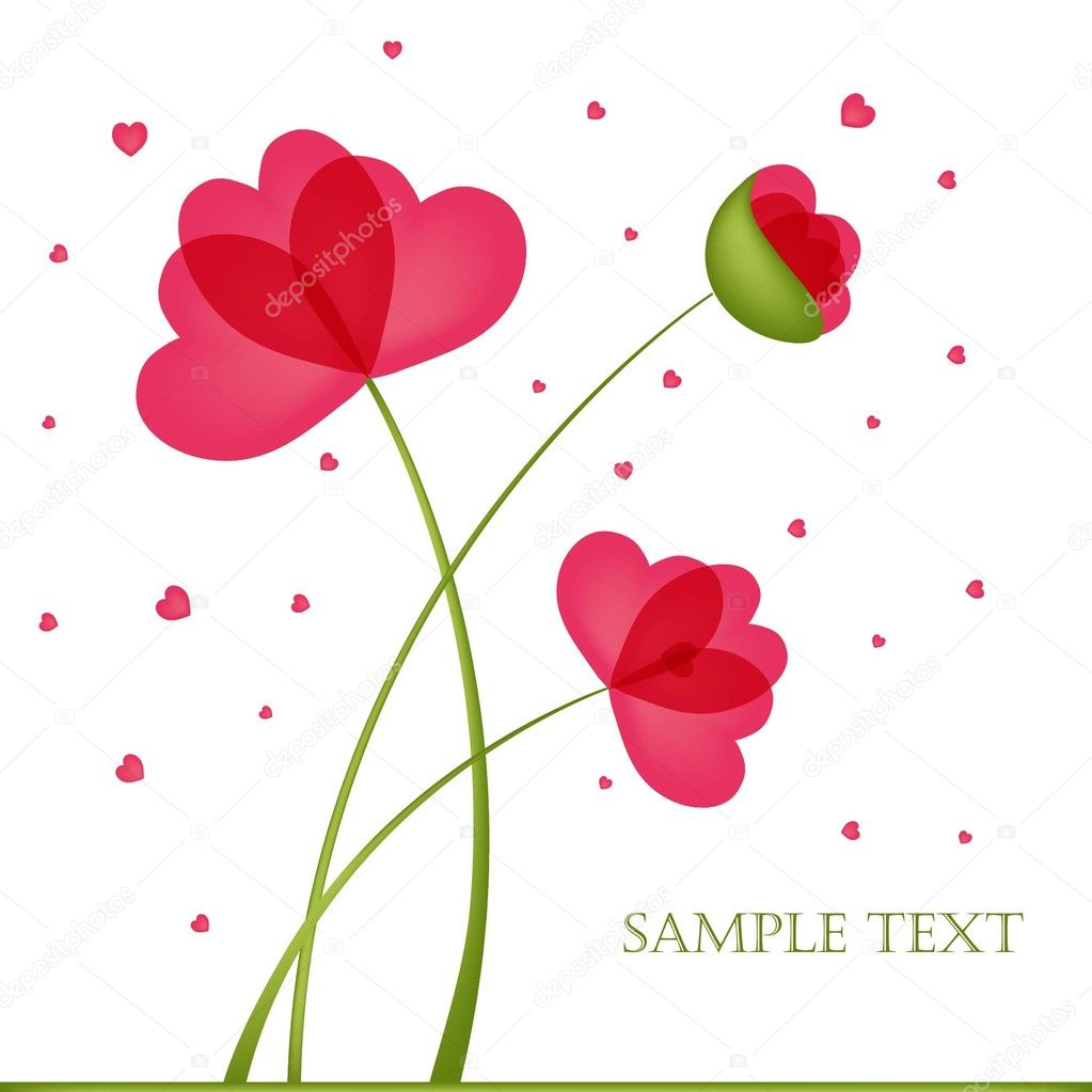 Flower Designs For Cards Design For Greeting Card