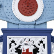 Tower Bridge – decorative detail — Stock Photo