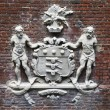 Tower of London  Coat of Arms - Stock Photo