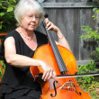 Female cellist. — Stock Photo #7153319