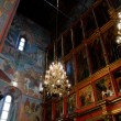 Interior of russian orthodox church at Moscow Kremlin — Stock Photo