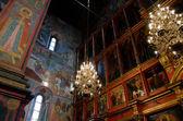 Interior of russian orthodox church at Moscow Kremlin — Stock Photo