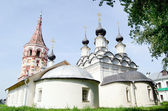 Ancient church in Suzdal. A gold ring of Russia — Stock Photo
