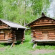 The old wooden house — Stock Photo