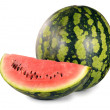 Royalty-Free Stock Photo: Watermelon isolated on white background