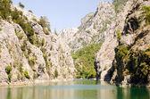 Harika bir manzara mounttain yeşil kanyon — Stok fotoğraf