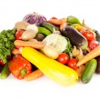 Foto de Stock  : Assortment of fresh vegetables