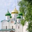 Ancient church in Suzdal. A gold ring of Russia - Stock Photo