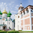 Ancient church in Suzdal. A gold ring of Russia - Stockfoto