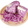 The red cabbage isolated — Photo