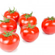 Stock Photo: Tomato isolated on white background