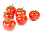 Tomato isolated on white background — Stock Photo
