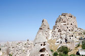 The speciel stone formation of cappadocia — Stock Photo