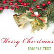Royalty-Free Stock Photo: Christmas and New Year Border