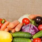 Assortment of fresh vegetables — Stock Photo #7649350