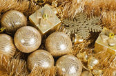 The christmas tree ball as a background — Stock Photo