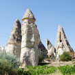 Speciel stone formation of cappadocia turkey - Stock Photo