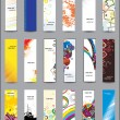 Collection Vertical banners — Stock Vector