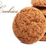 Oatmeal cookies — Stock Photo